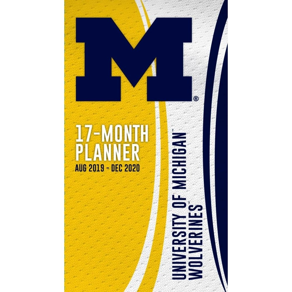 Michigan Wolverines 2020 Pocket Planner | | Calendars with regard to U Of Michigan Calendar 2019-2020