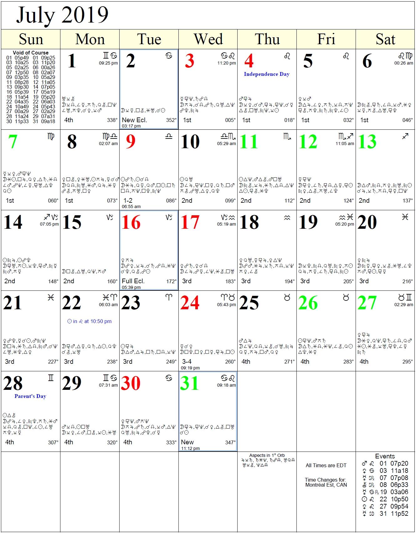 Monthly Astrology Calendars regarding Calendar 2020  Zodiac