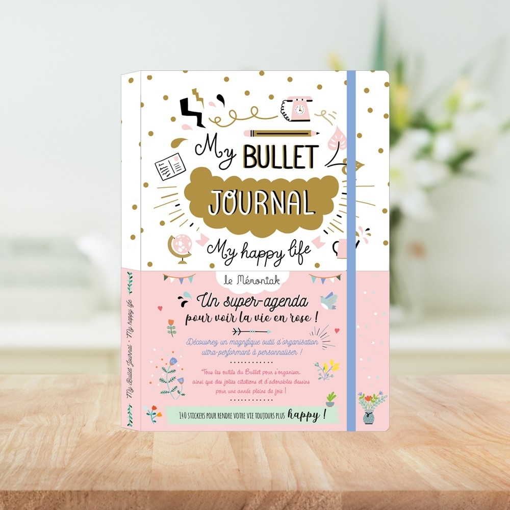 My Bullet Journal My Happy Life 2019-2020 - Éditions 365 regarding 2020 Bullet Journals