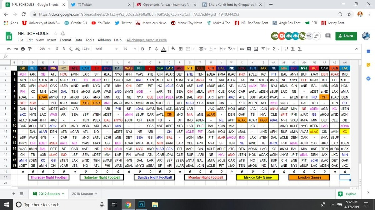 """Nfl Research On Twitter: """"here It Is, Your Full 2019 @nfl Schedule!… """" within 2019-2020 Nfl Schedule"""