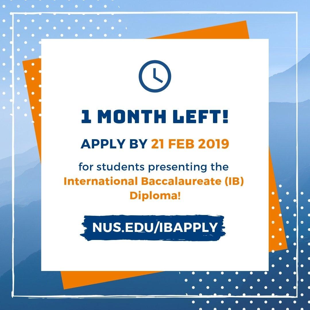 Nus Admissions (@nusadmissions) | Twitter for Nus Academic Calender 2019 2020