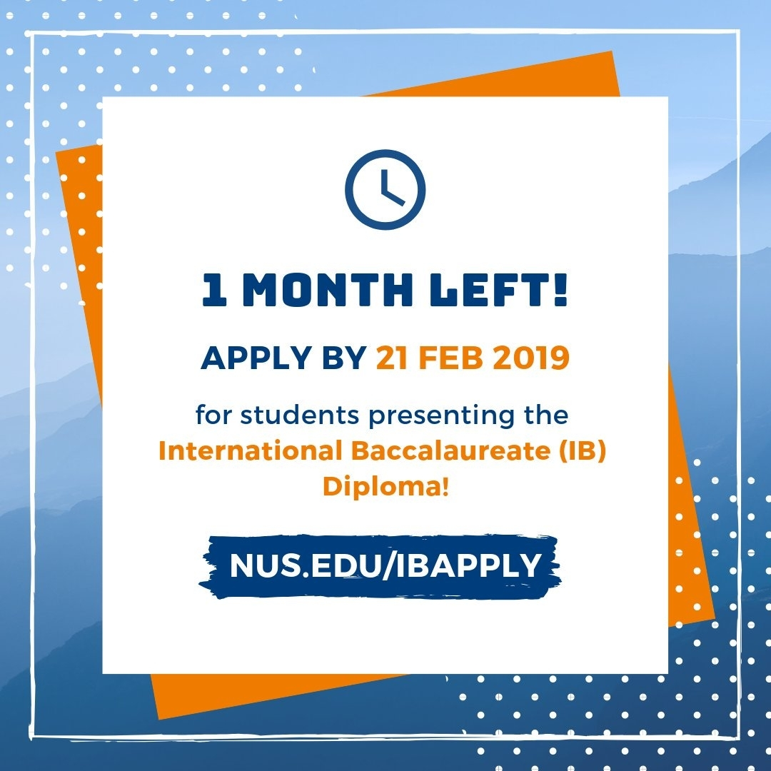 Nus Admissions (@nusadmissions) | Twitter inside Academic Calendar 2019 2020 Nus