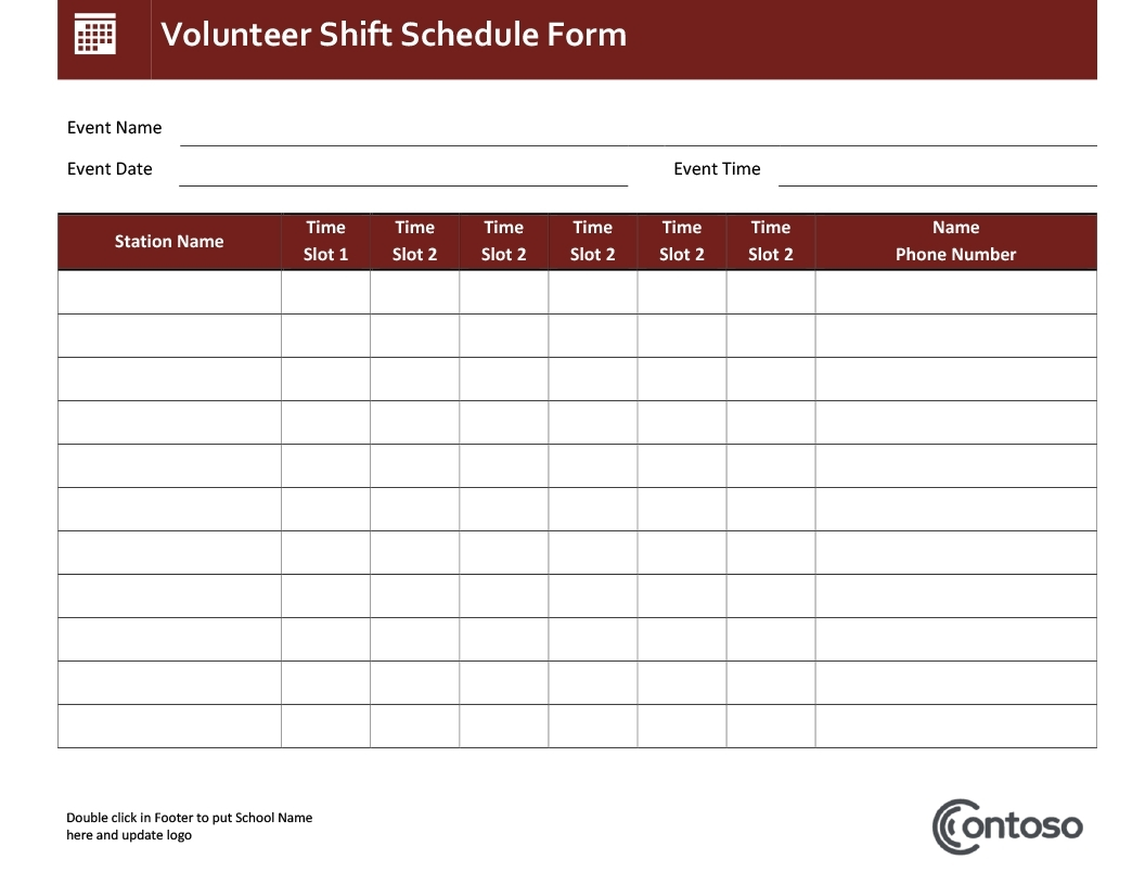 One Day Schedule Template Event Agenda Lesson Plan Excel | Smorad inside Day By Day Schedule Template