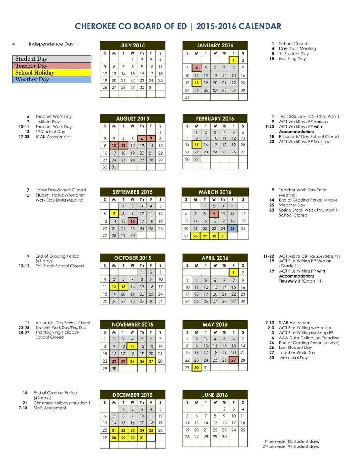 Page 1 10 Uga Academic Calendar 201516 - Calendar with Uga Academic Schedule 2019 2020