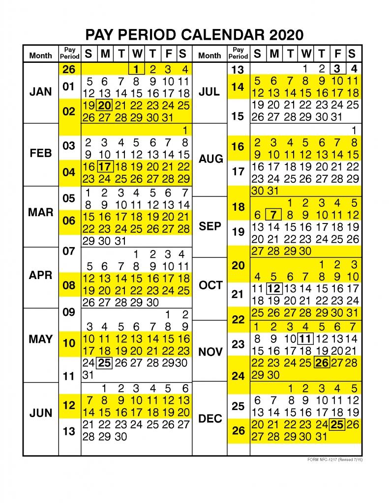 Pay Period Calendar 2020Calendar Year | Free Printable 2019 regarding Free Hebraic Calendar 2019 2020