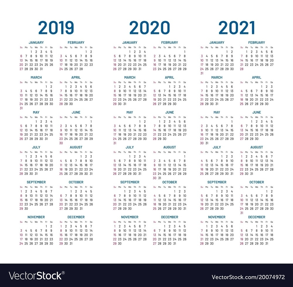 Perky 2 Year Pocket Calendar 2019 And 2020 • Printable Blank with Pocket Printable 2019-2020 Calendar Free