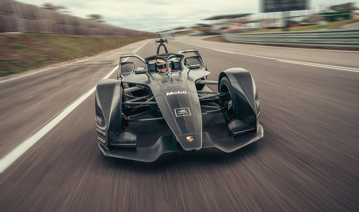Porsche Completes Maiden Formula E Rollout - Speedcafe for Formula E 2019 2020 Calendar