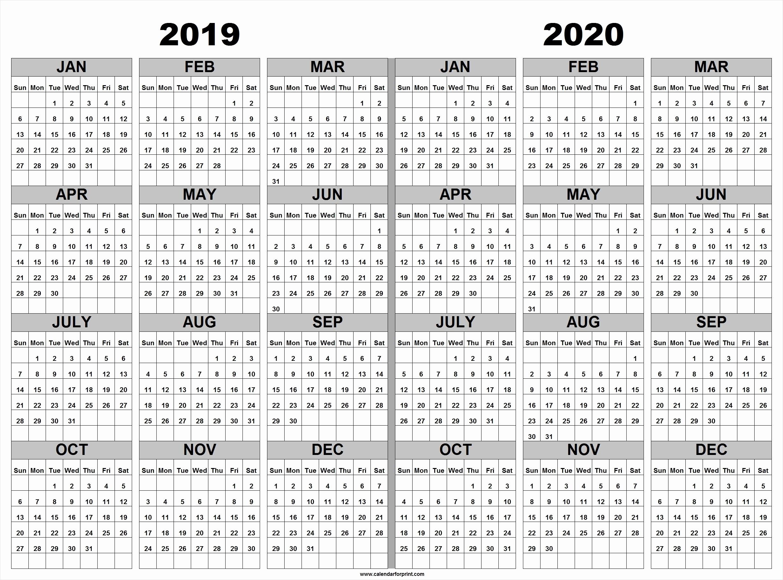 Printable 2019 2020 Academic Calendar Printable 2018 2019 2020 regarding 2019- 2020 Calendar Printable Uga