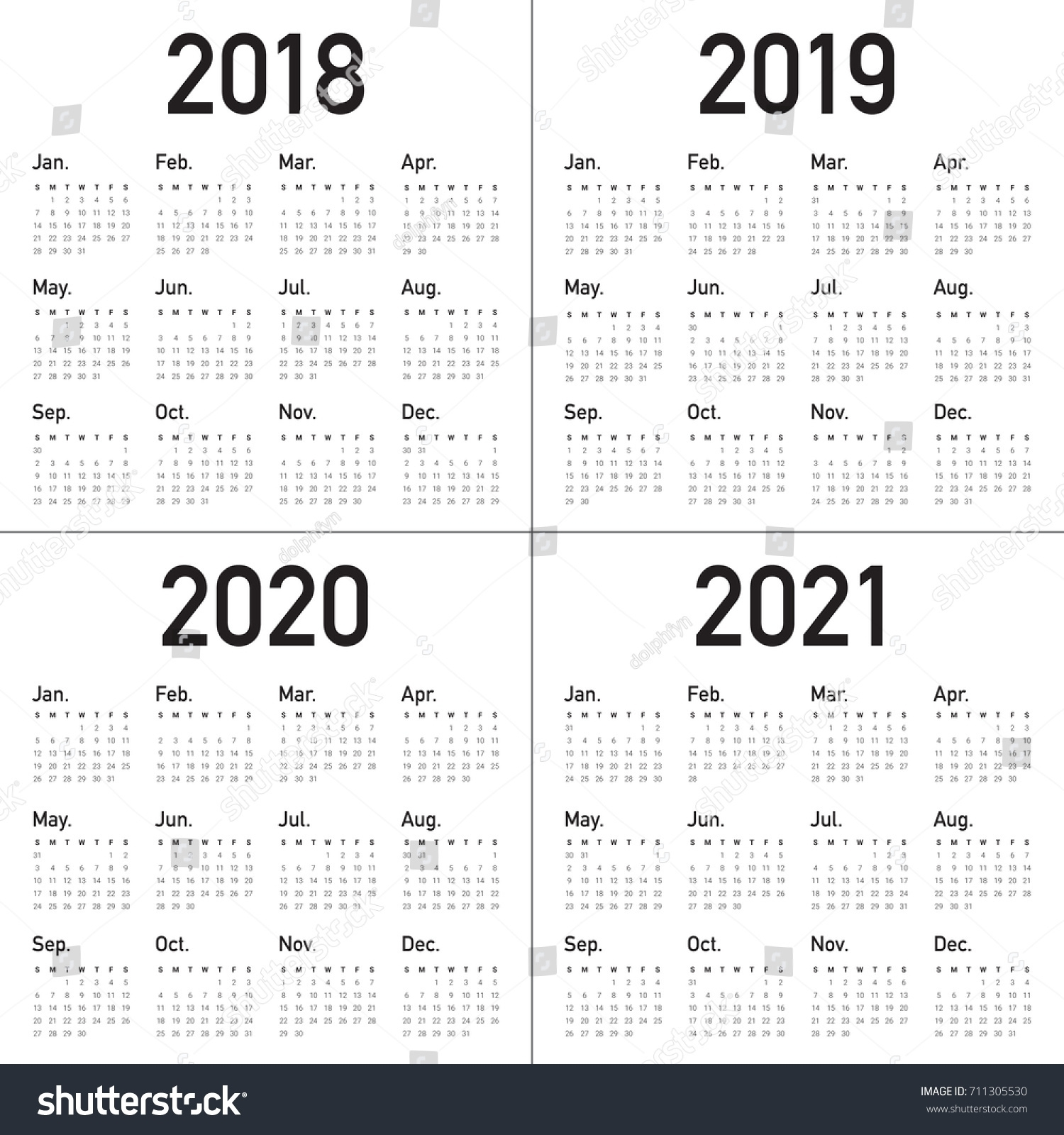 Printable 3 Year Calendar 2019 To 2021 | Printable Calendar 2019 within Free Printable 3 Year Calendar 2019 2020 2021