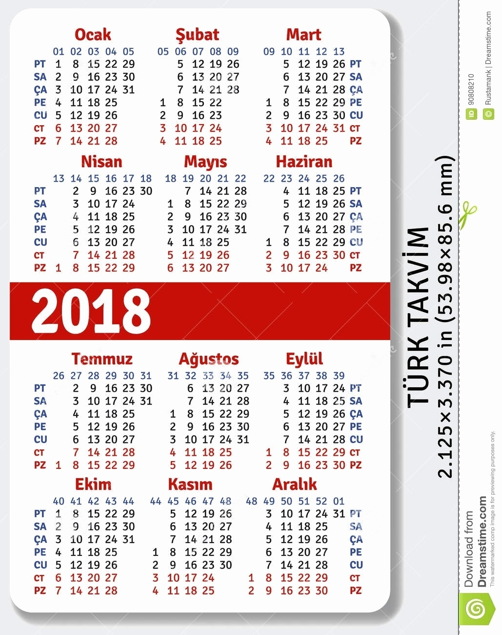 Printable Pocket Calendar 2018 Free Printable Pocket Size Calendars within Free Printable Pocket Size Calendars