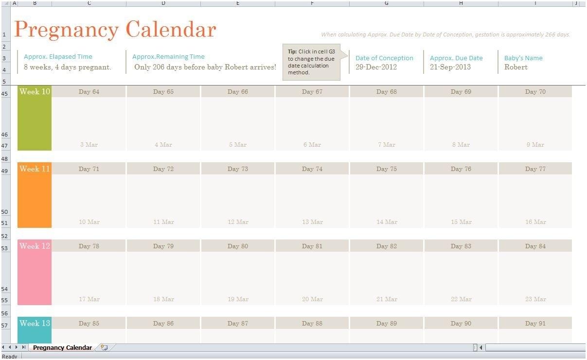 Printable Pregnancy Calendar Weekweek To Download Or Print regarding Weekly Pregnancy Calendar Week By Week Pregnancy Calendar