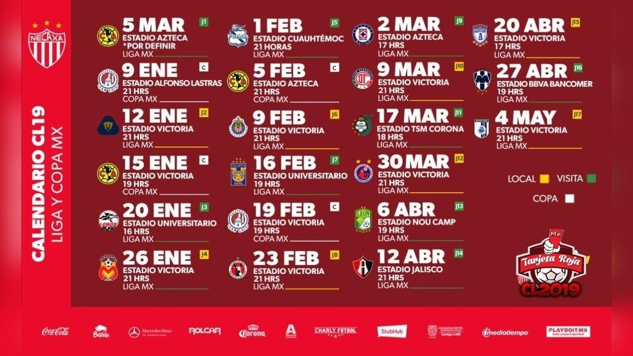Rayos Del Necaxa Calendario Oficial | Clausura 2019 | Liga Mx - Youtube regarding Calendario Liga Mx 2019 2020