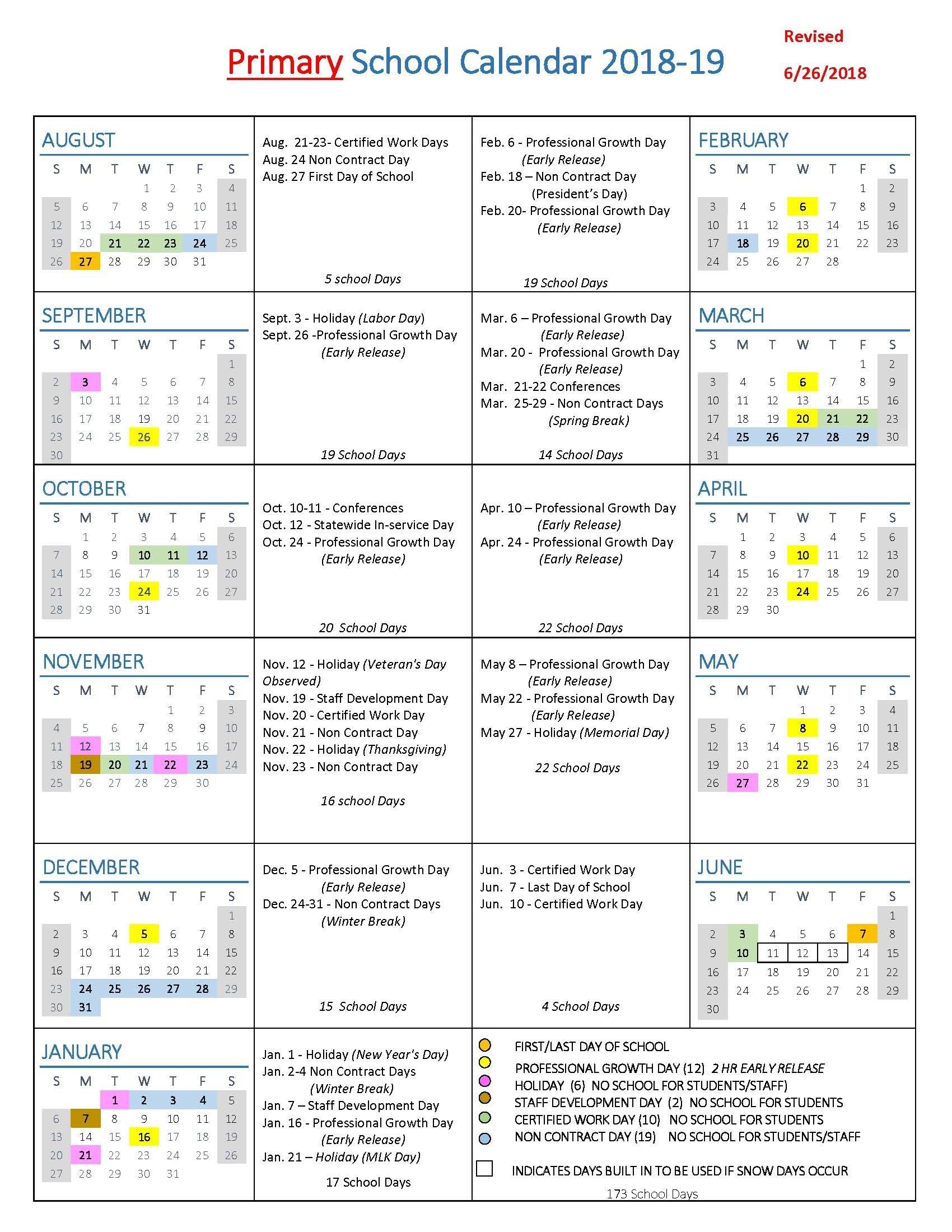 School Year Calendars / Wlwv School Calendars for Calendar Week 2020 Kannada