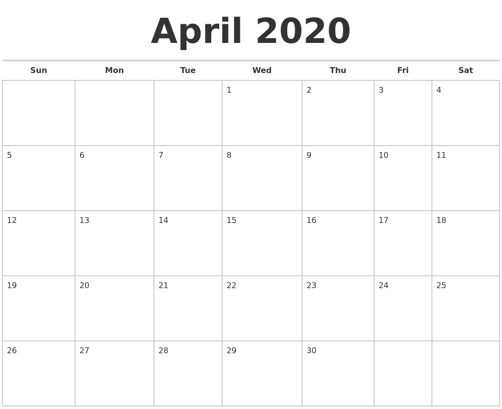 September 2020 Calendar Maker within Free 2020 Calendar Maker