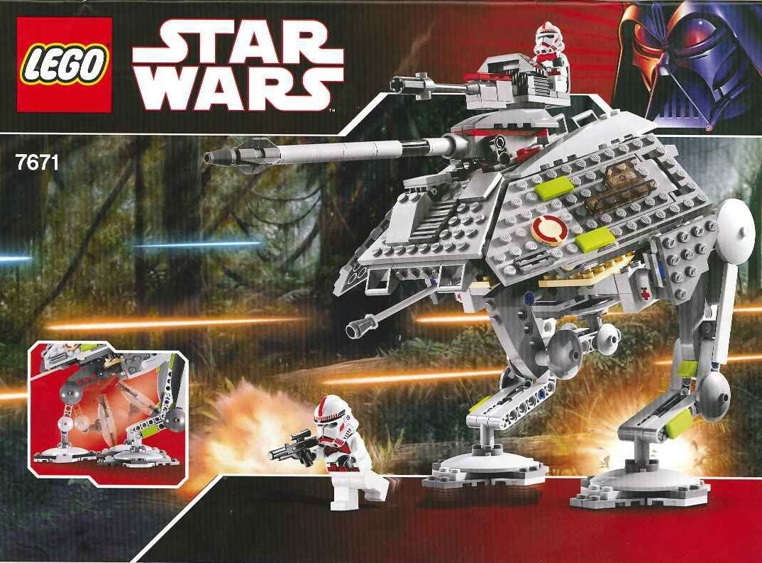 Star Wars Episode 3 - At-Ap Walker [Lego 7671] | Lego Sets Of for The Lego Star Wars Chirstimas Set Code