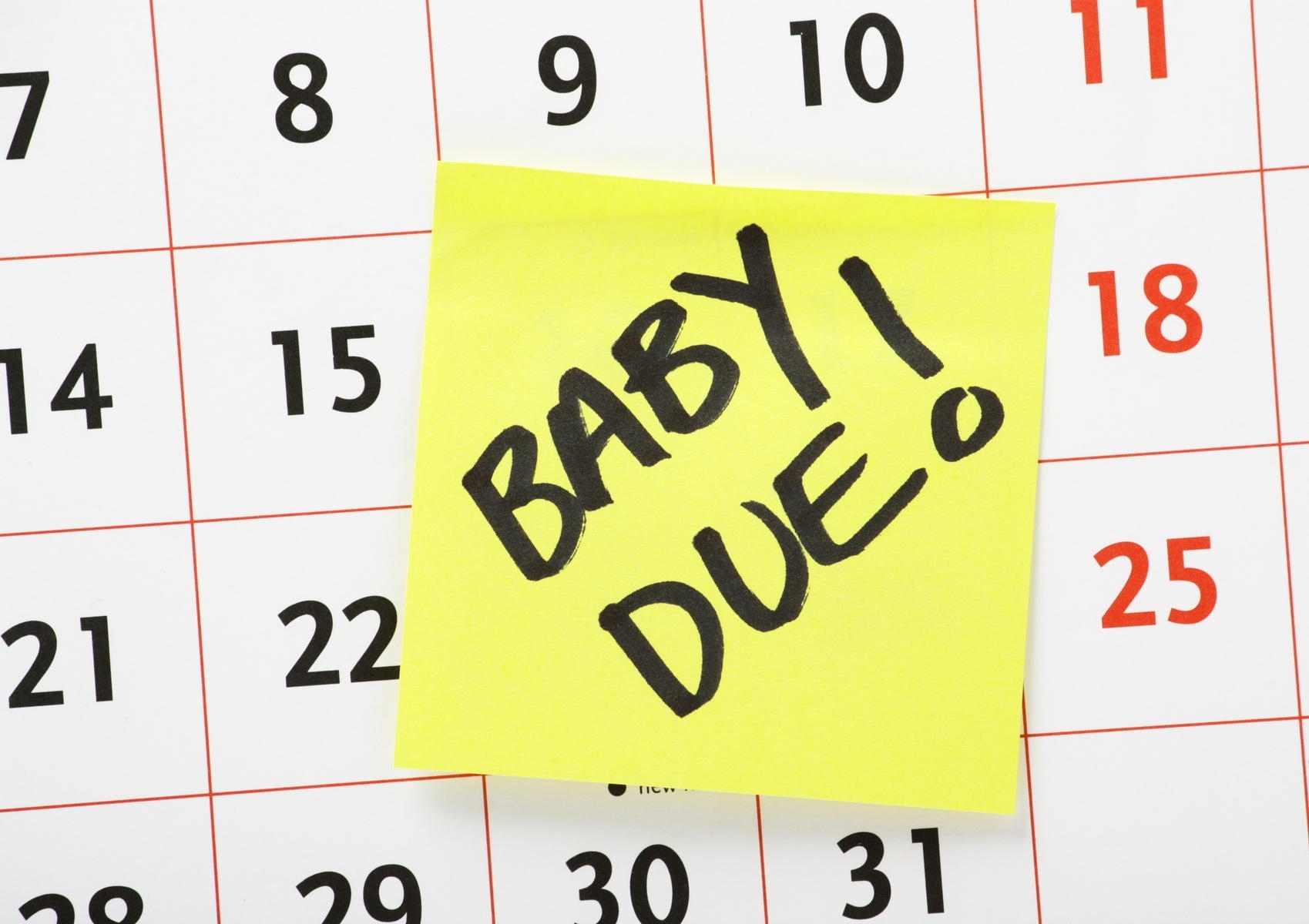 The Truth About Due Dates | Parents intended for Baby Prediction Plan Calendar Color