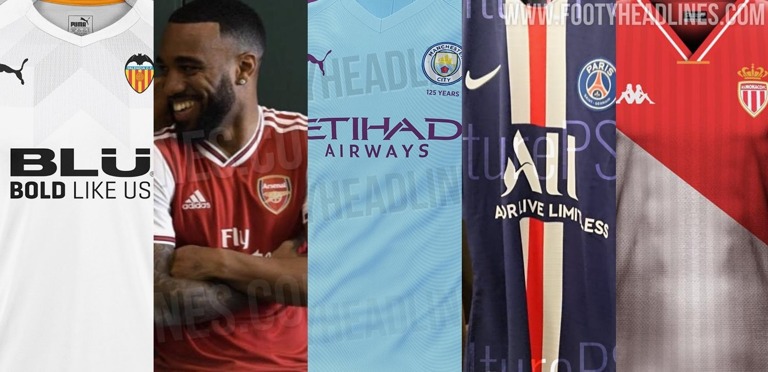 Top 5 19-20 Kits To Be Released On July 1 2019 | Arsenal, Man City within Psg Calendar 2019-2020