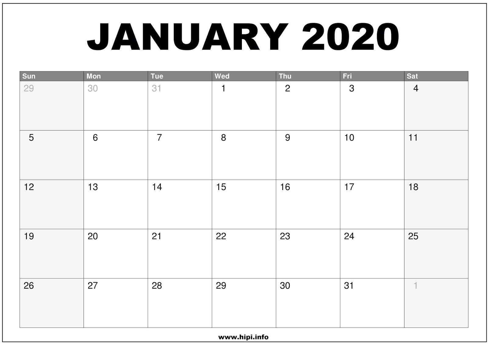 Twitter Headers / Facebook Covers / Wallpapers / Calendars: January intended for Free 8/2019 -5/ 2020 Printable Calendar