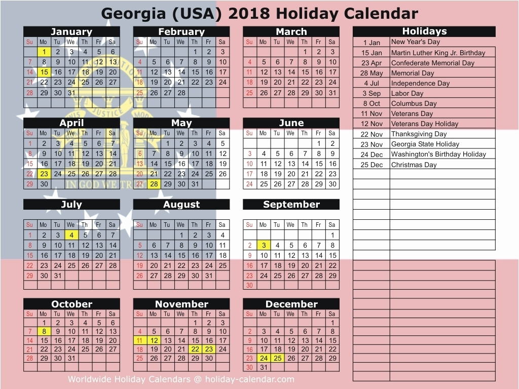 Uga Calendar 2019 Georgia 2019 2020 Holiday Calendar | Shyampooja for Uga 2019-2020 School Calendar