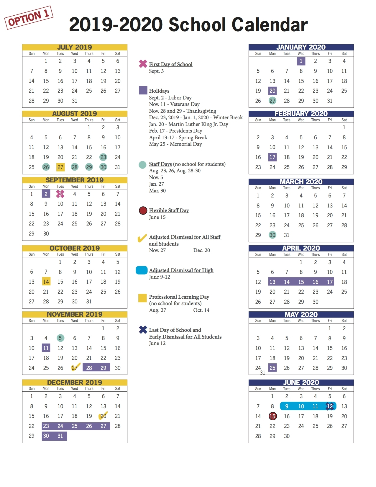 Vbcps E-Town Hall - 2018-2019 And 2019-2020 School Calendar Review within Embedded Calendar 2020