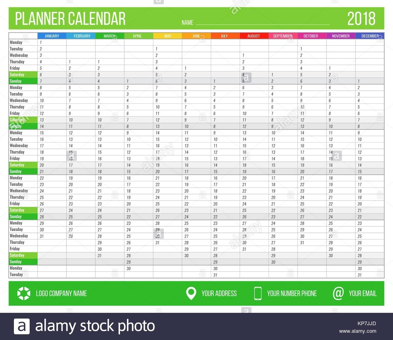 Wall Planner Stock Photos & Wall Planner Stock Images - Alamy inside Printable Neon 12 Month Blank Calendar