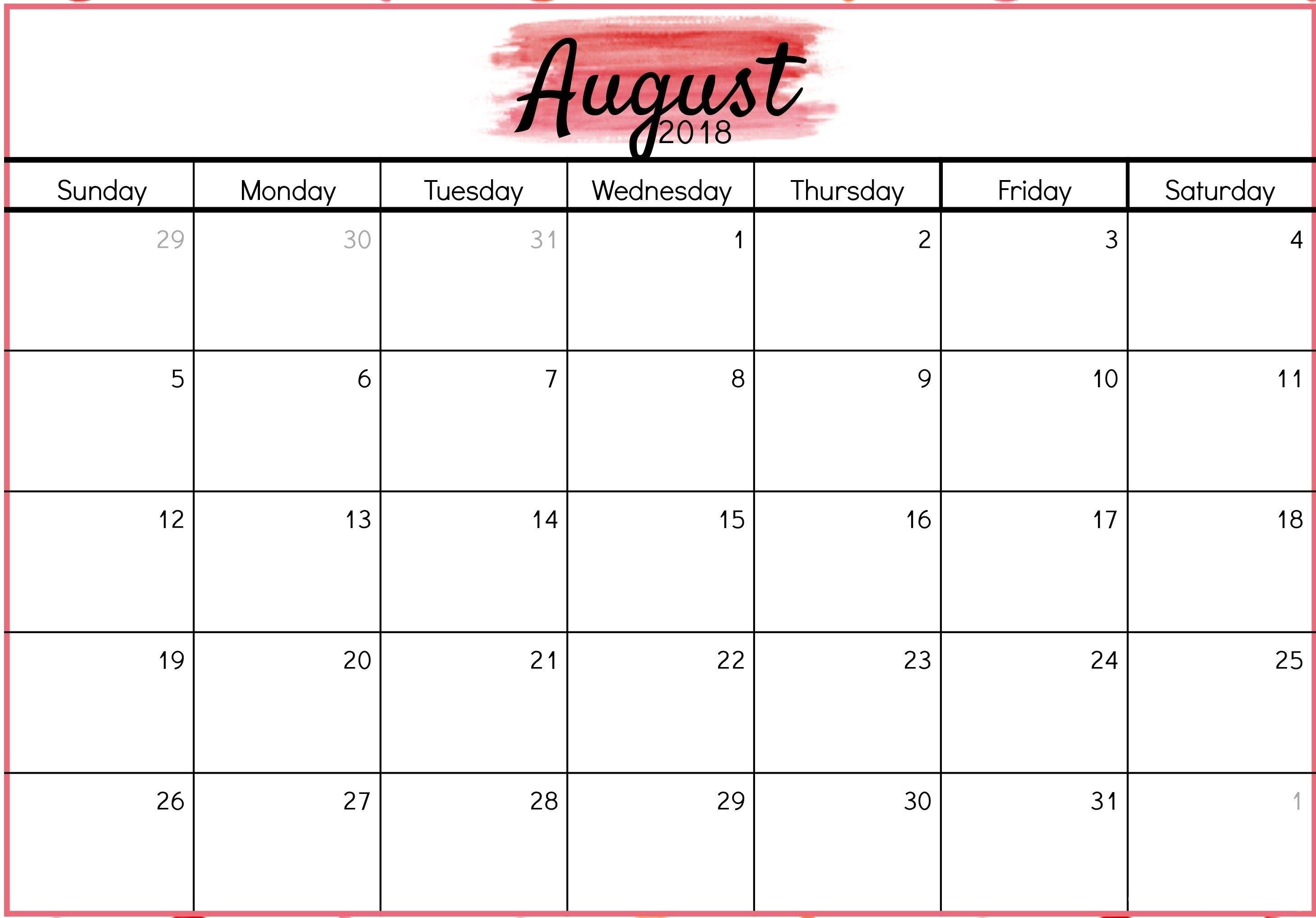 Waterproof Paper Calendar 2018   Thekpark-Hadong inside Free Printable Calendars 2020 Waterproof