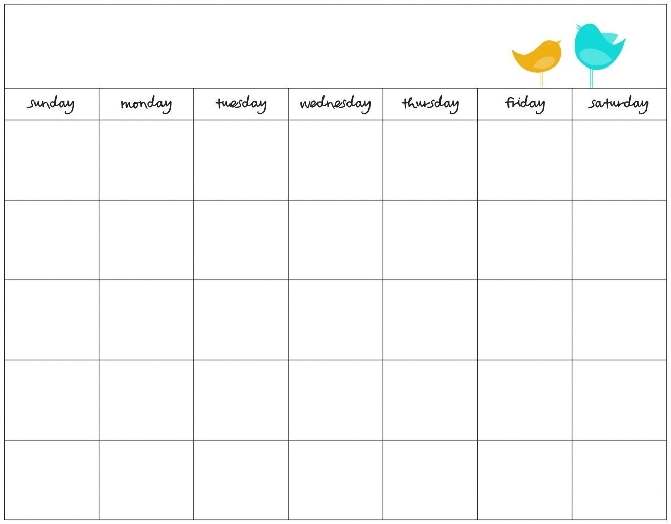 With Blank 30 Day Calendar   Otohondalongan with Free Printable 30 Day Calendars