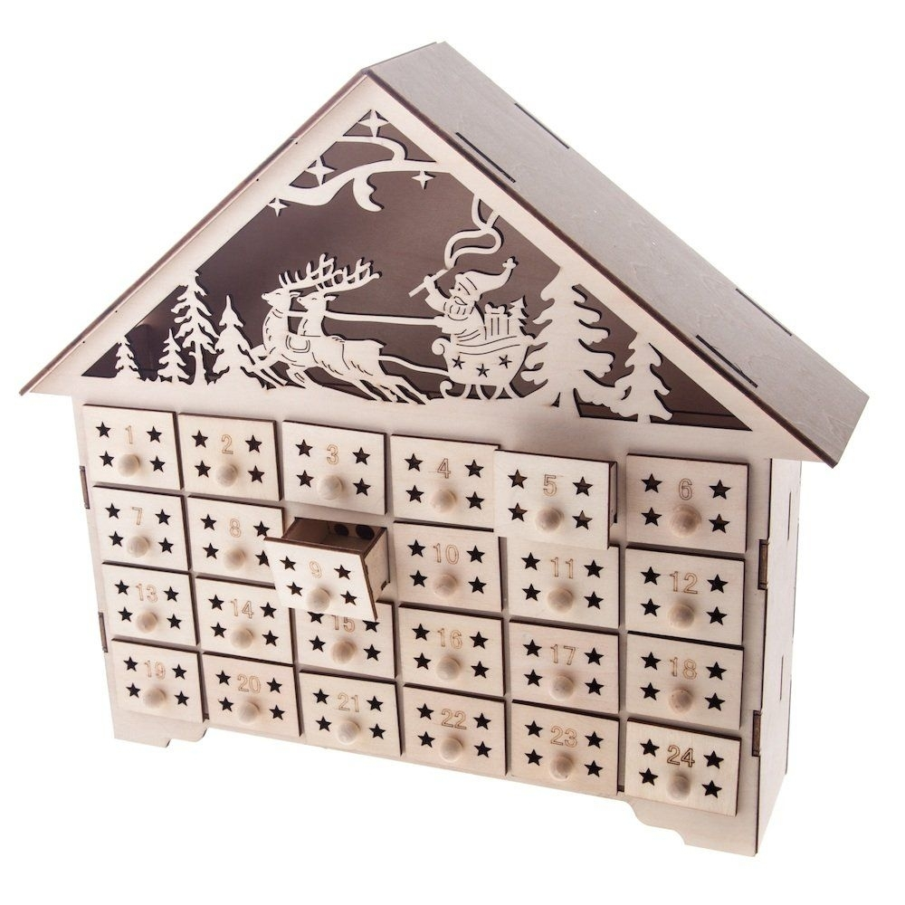 Wooden-Advent-Calendars-With-Boxes-As-Byers-Choice-Advent-Calendar within Wooden Advent Calendar With Lights And Boxes