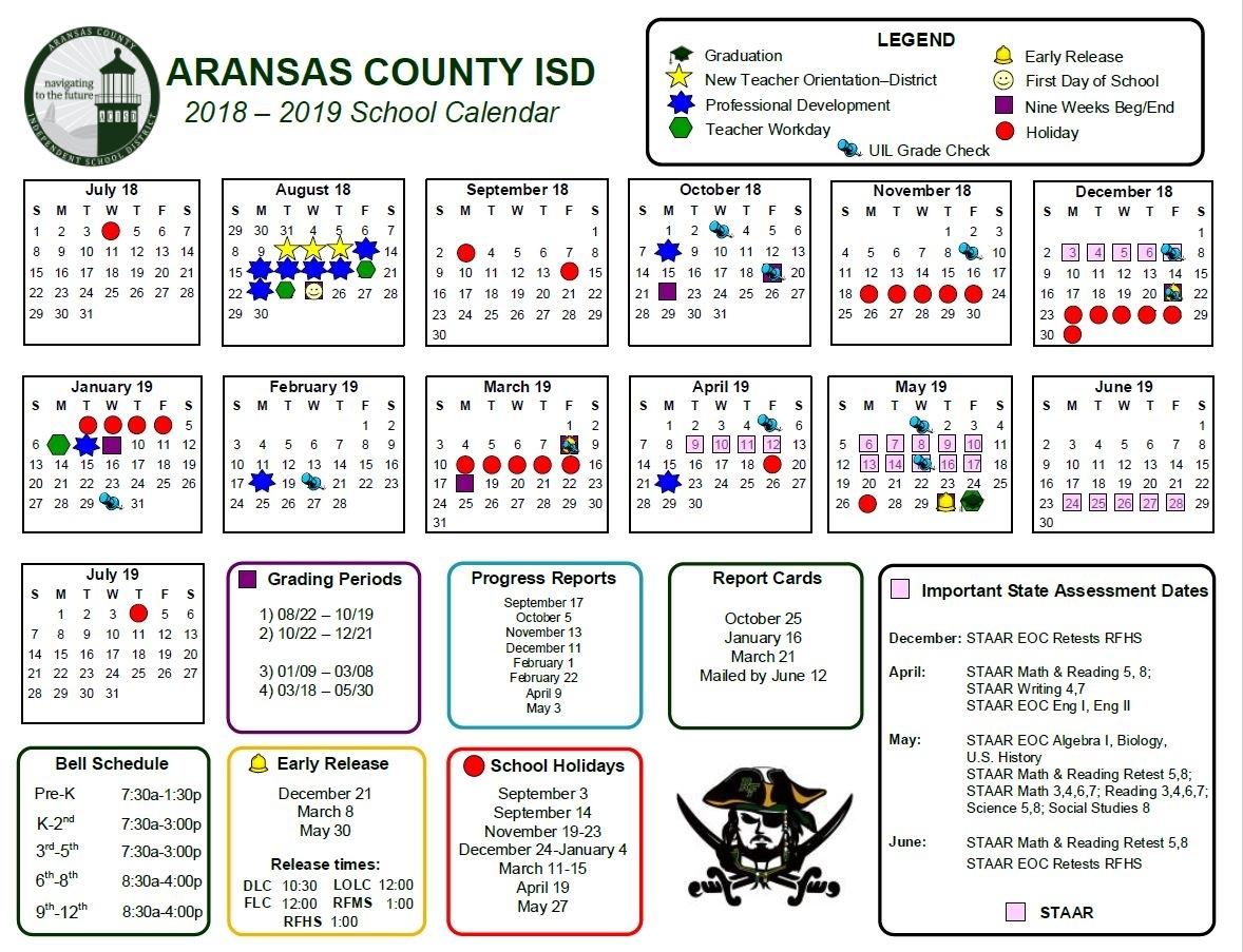 Rockport-Fulton High School - Offical Website for 2020 Uil Calendar