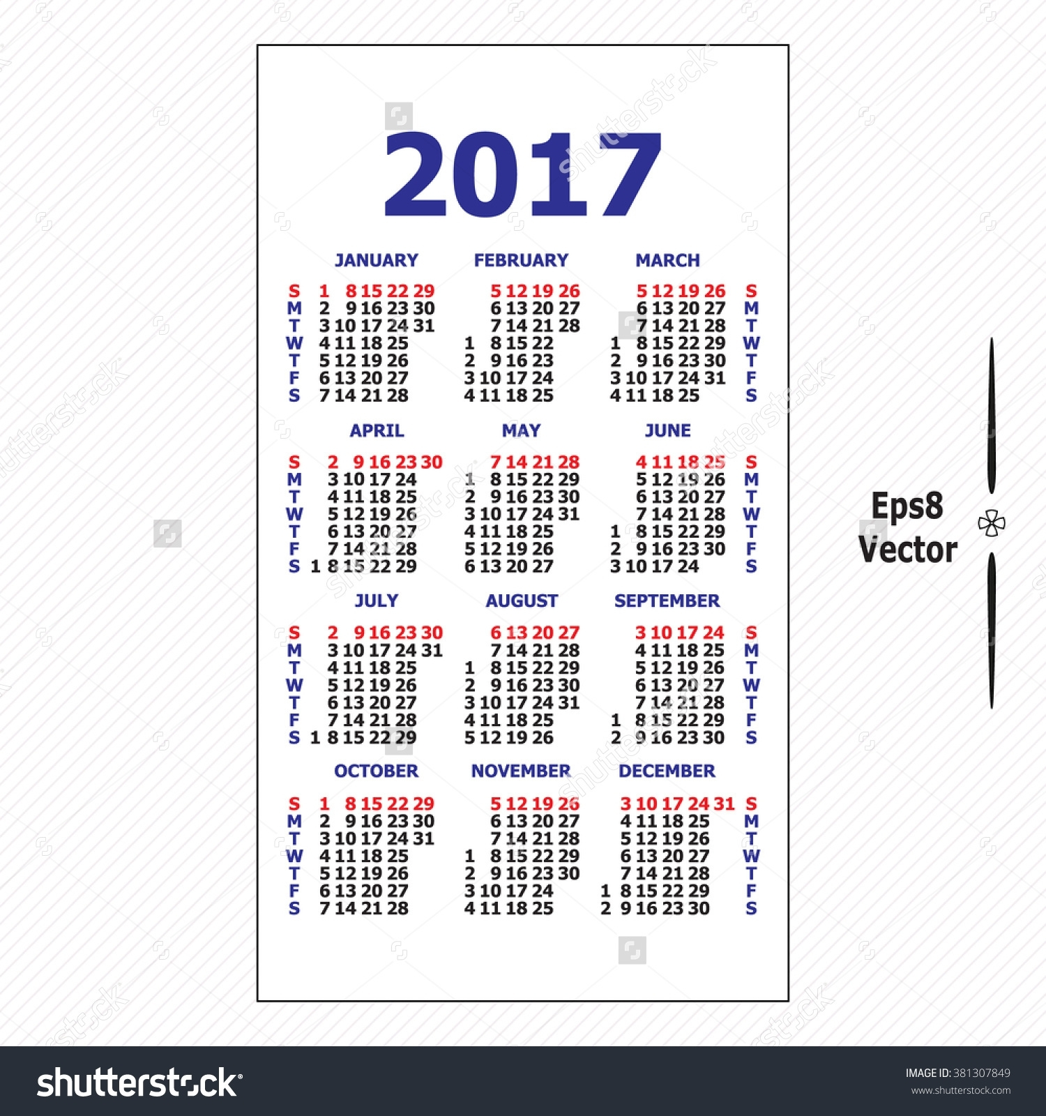 2017 Wallet Calendar | Templates Free Printable in Template For Pocket Sized Calendar