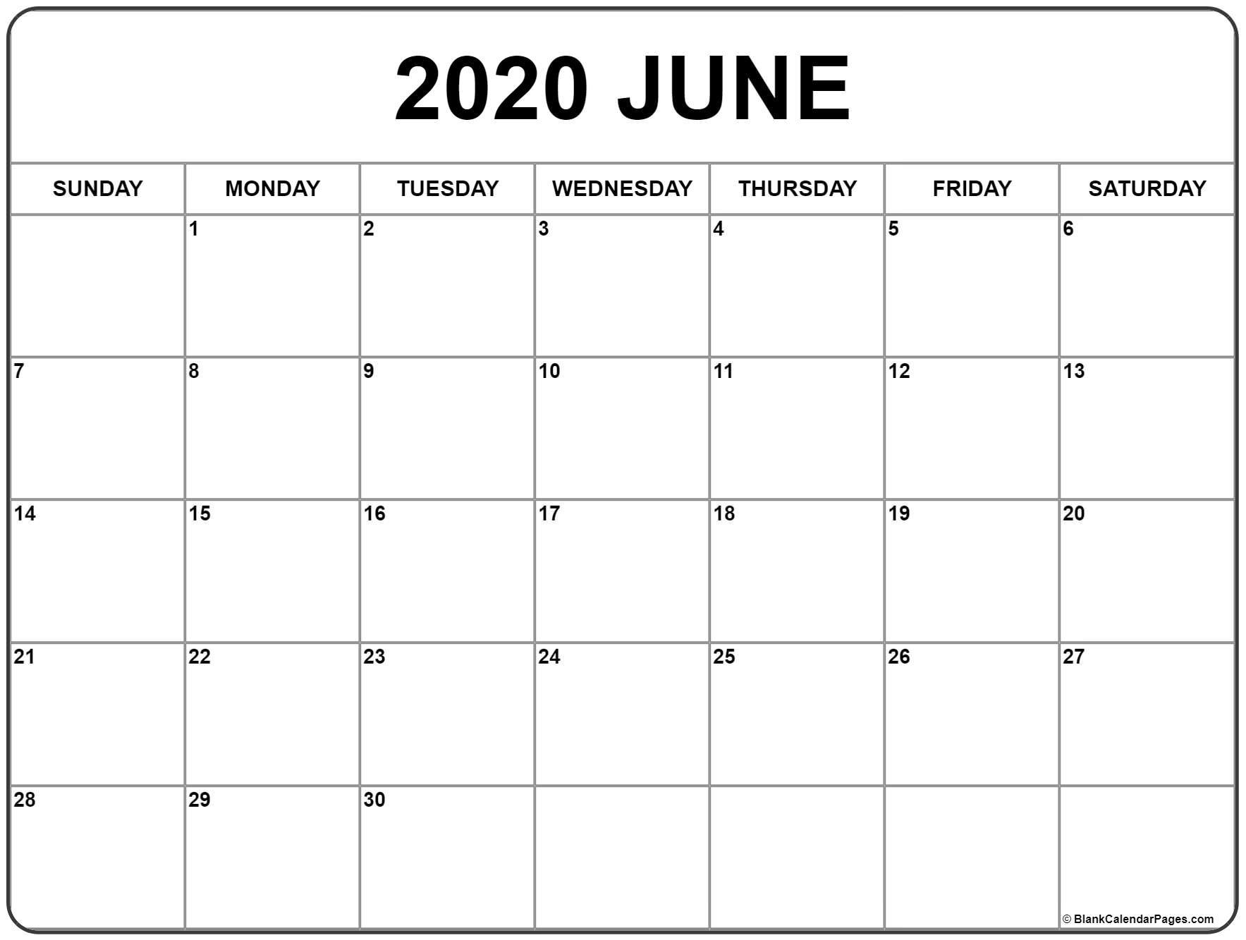2020 June Calender - Colona.rsd7 for 2020 Liturgical Calendar June 2020