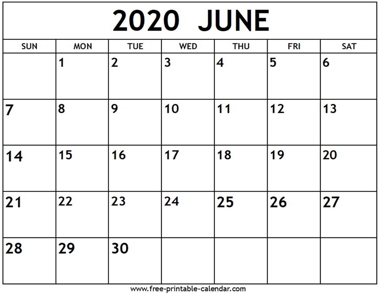 2020 June Calender - Colona.rsd7 throughout 2020 Liturgical Calendar June 2020