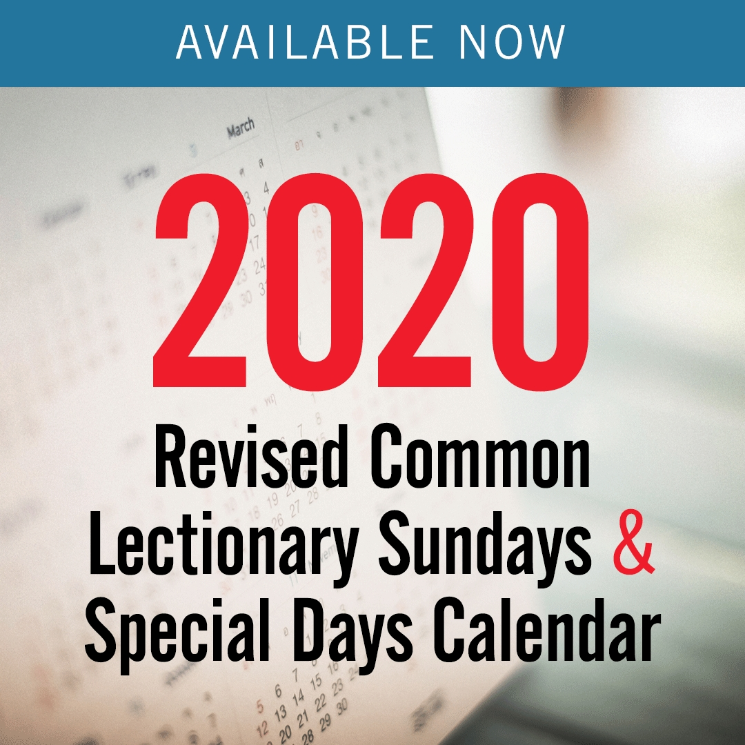 2020 Revised Common Lectionary – Sundays & Special Days Only for This Pc Liturgical Colours 2020