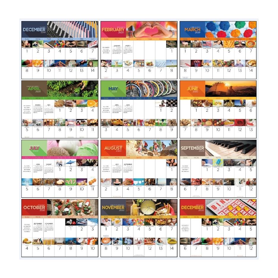 "2021 National Day Calendar | 11"" X 19"" Imprinted National regarding Special Calendar Days In 2020"