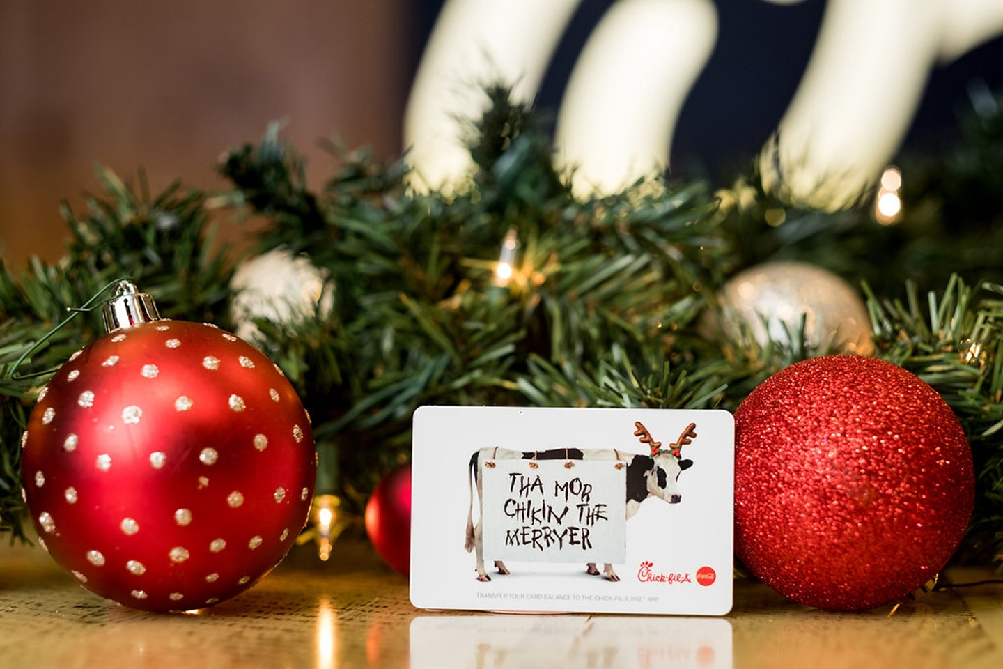 3 Reasons To Give A Chick-Fil-A Gift Card As A Holiday regarding Chick A Fil Ornament Calendar