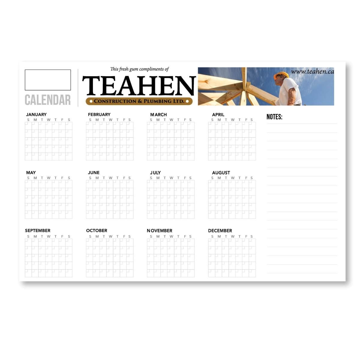 "44"" X 92"" Perpetual Dry Erase Calendar - Year At A Glance regarding Year At A Glace Calendar"