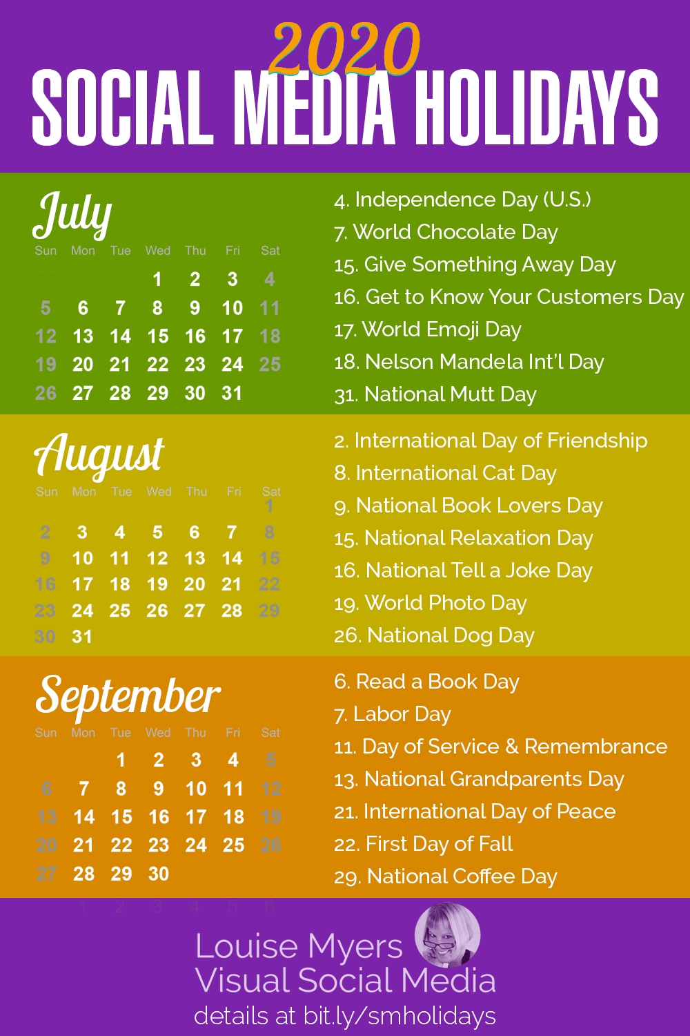 84 Social Media Holidays You Need In 2020: Indispensable! for Special Days In The Business Calendar 2020