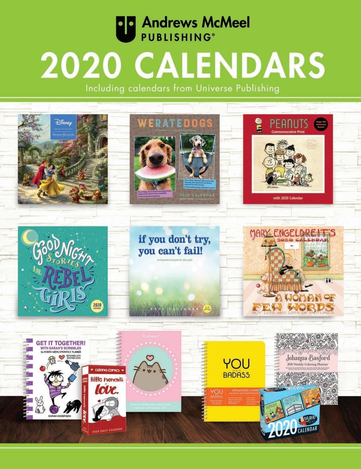 Andrews Mcmeel Publishing 2020 Calendar Catalogandrews within Jan 2020 Calendar For Stephen F Austin