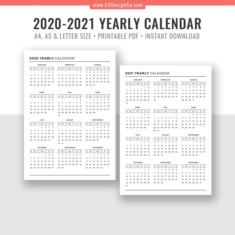 At A Glance Planner 2020 - Colona.rsd7 inside At A Glance Downloadable 2020 Calendar