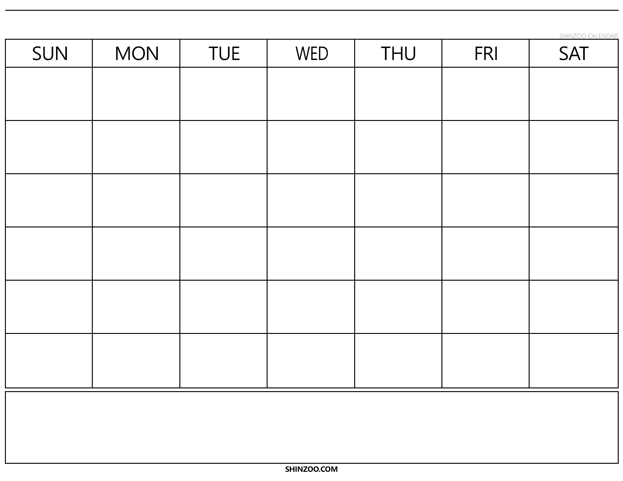 Blank Calendar Template 2019 2020 Printable in Blank Calendar 2019 2020 To Fill In