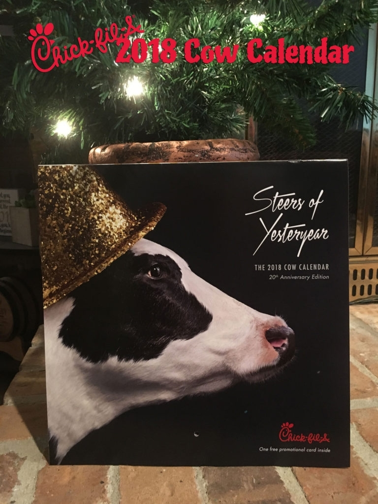 Buy A 2018 Chick-Fil-A Calendar For $9 And Save All Year! regarding Cow Calendar Chick Fil A