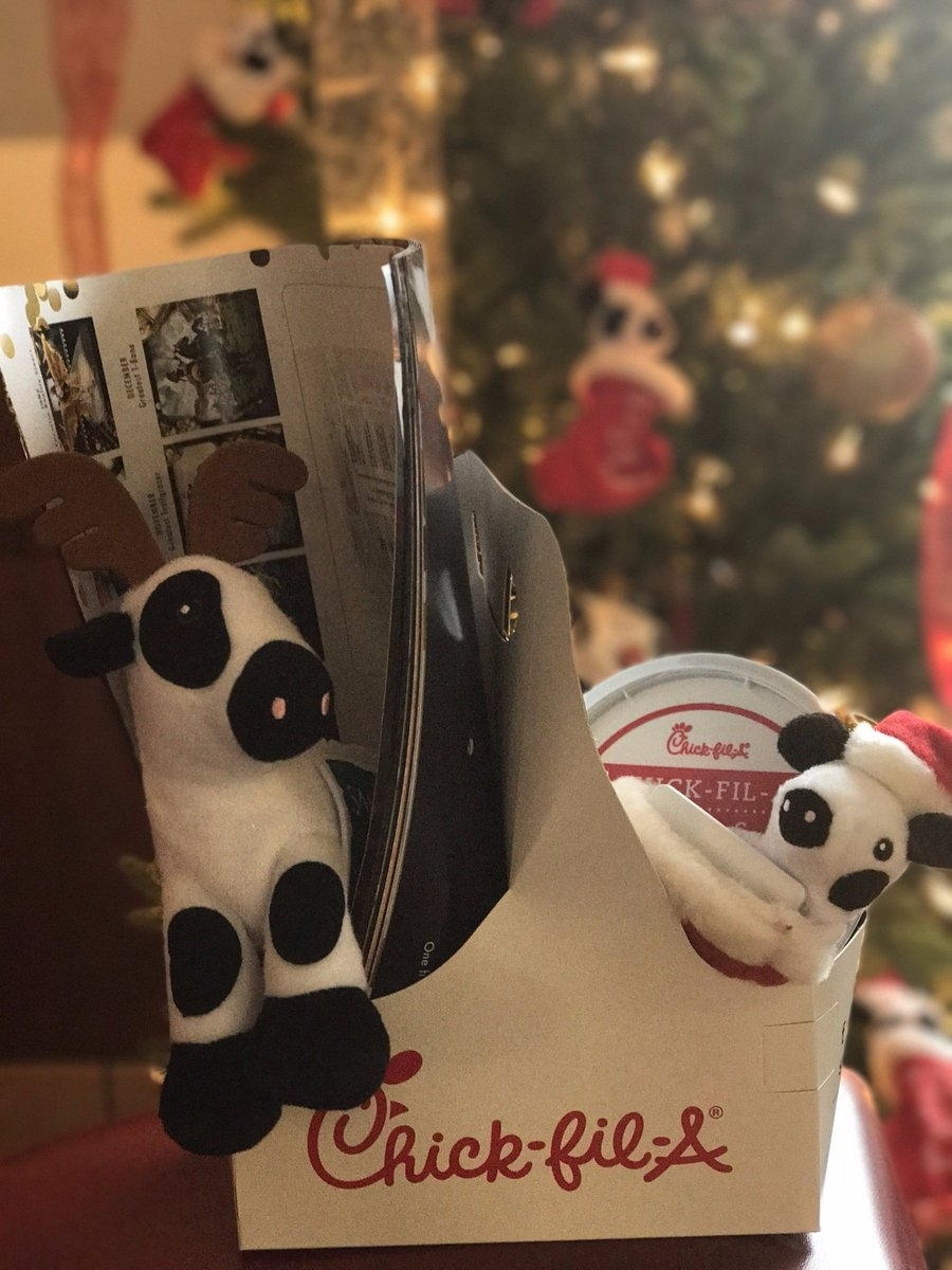Cfagiveaway Hashtag On Twitter with regard to Chick A Fil Ornament Calendar