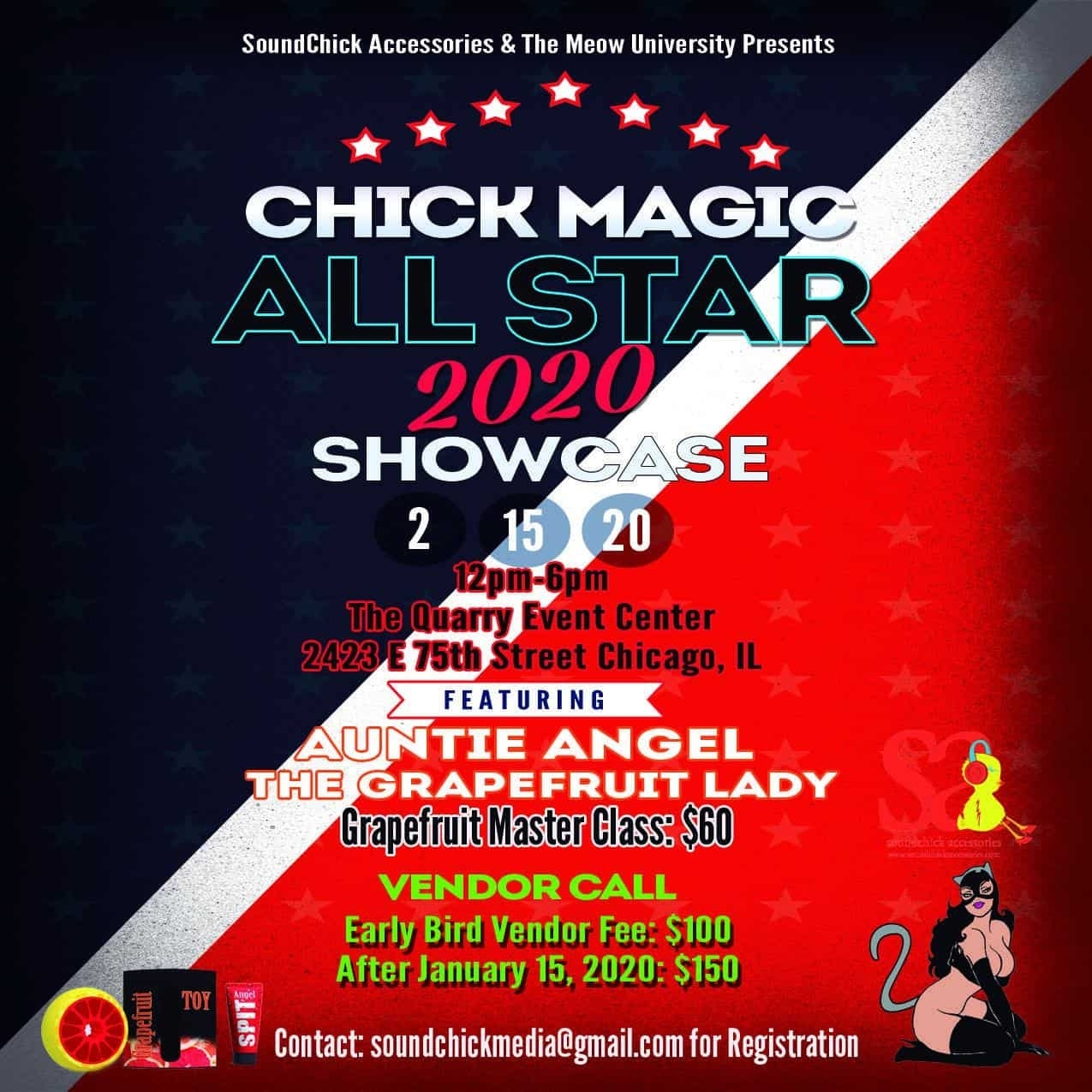 Chick Magic All Star 2020 Artist Showcase with Chick To By In 2020