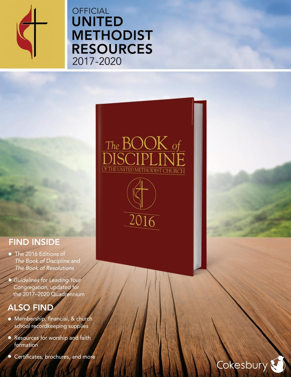 Cokesbury's Official United Methodist Resources 2017-2020 with Downloadable Umc Liturgical Calendar 2020