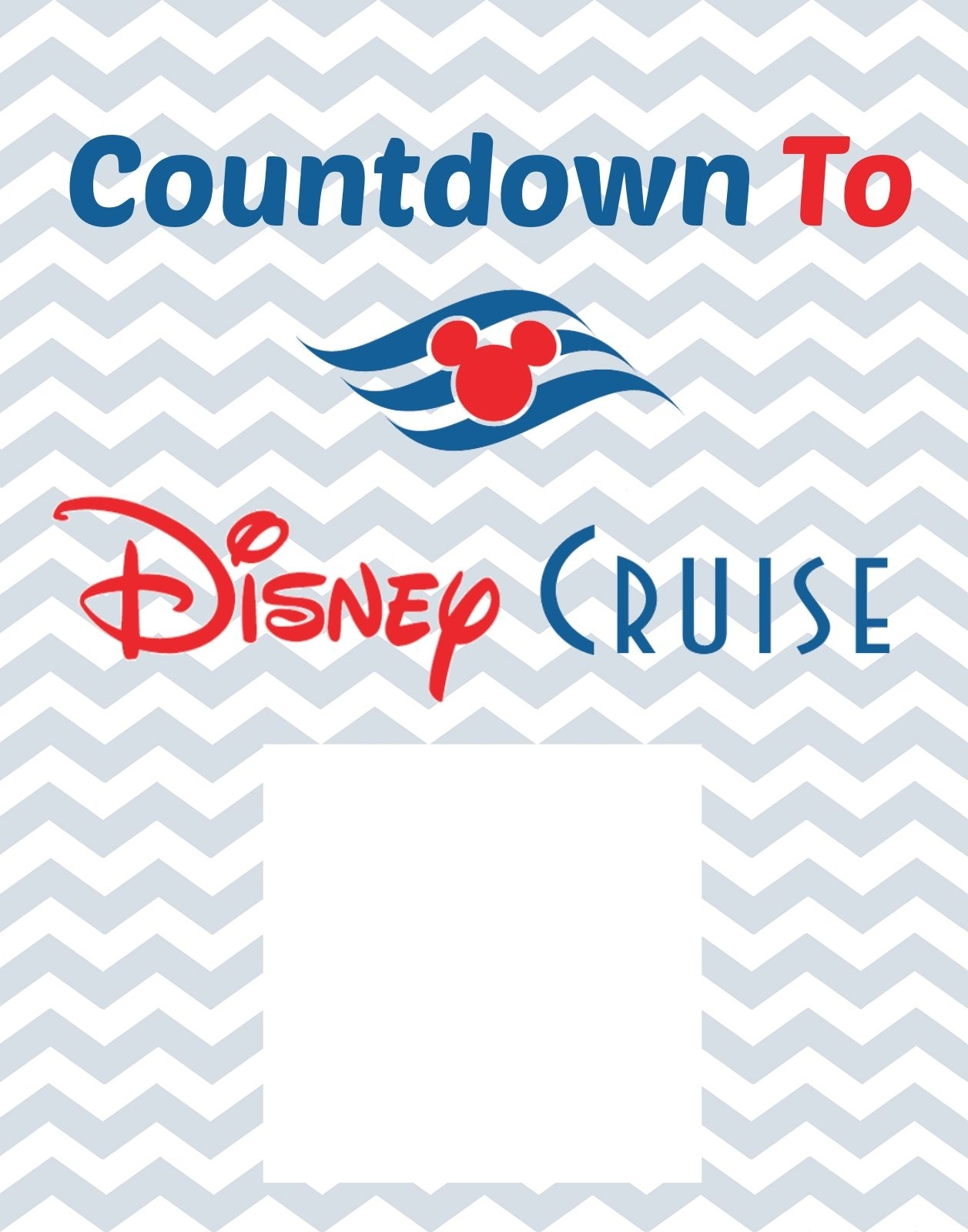 Disney Cruise Countdown Printable Free | Disney Dream Cruise pertaining to Count Diwn Calendar Fir Disney Cruise
