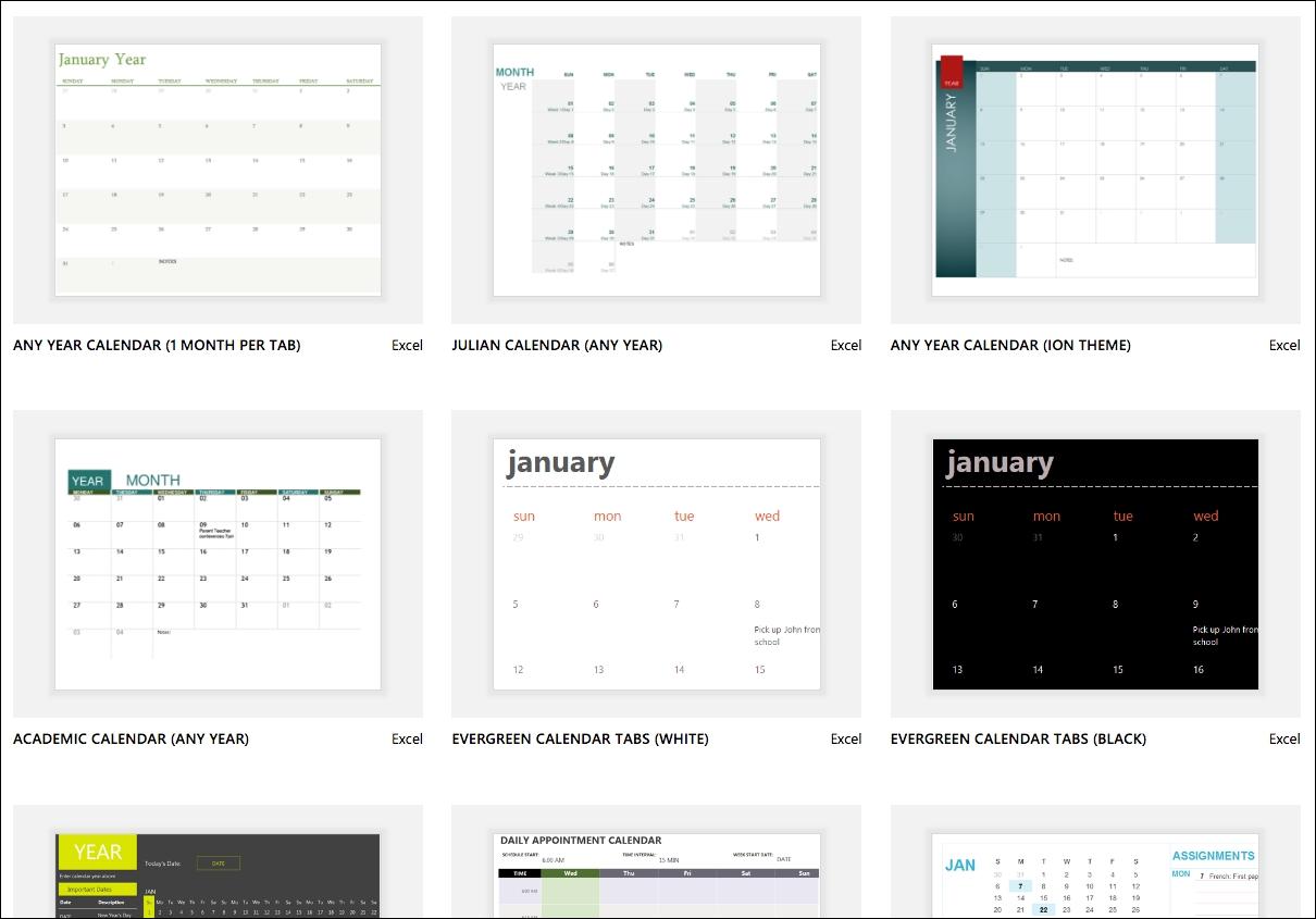 Excel Calendar Templates - Excel regarding More Calendar Templates: 2019 2020 Web Calendar