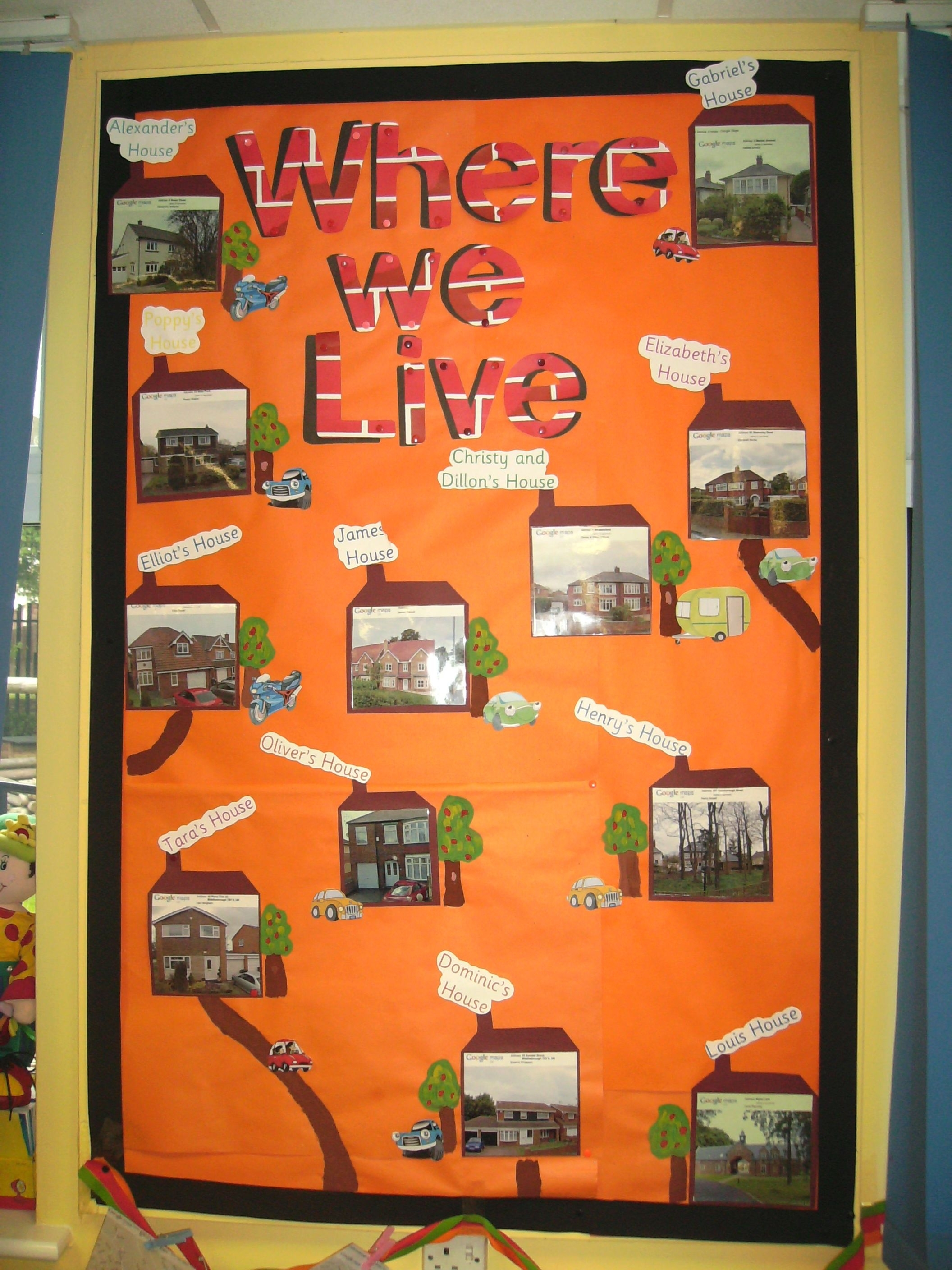 Exploring Where We Live … | Classroom Displays, Eyfs with Where We Live Upk Unit