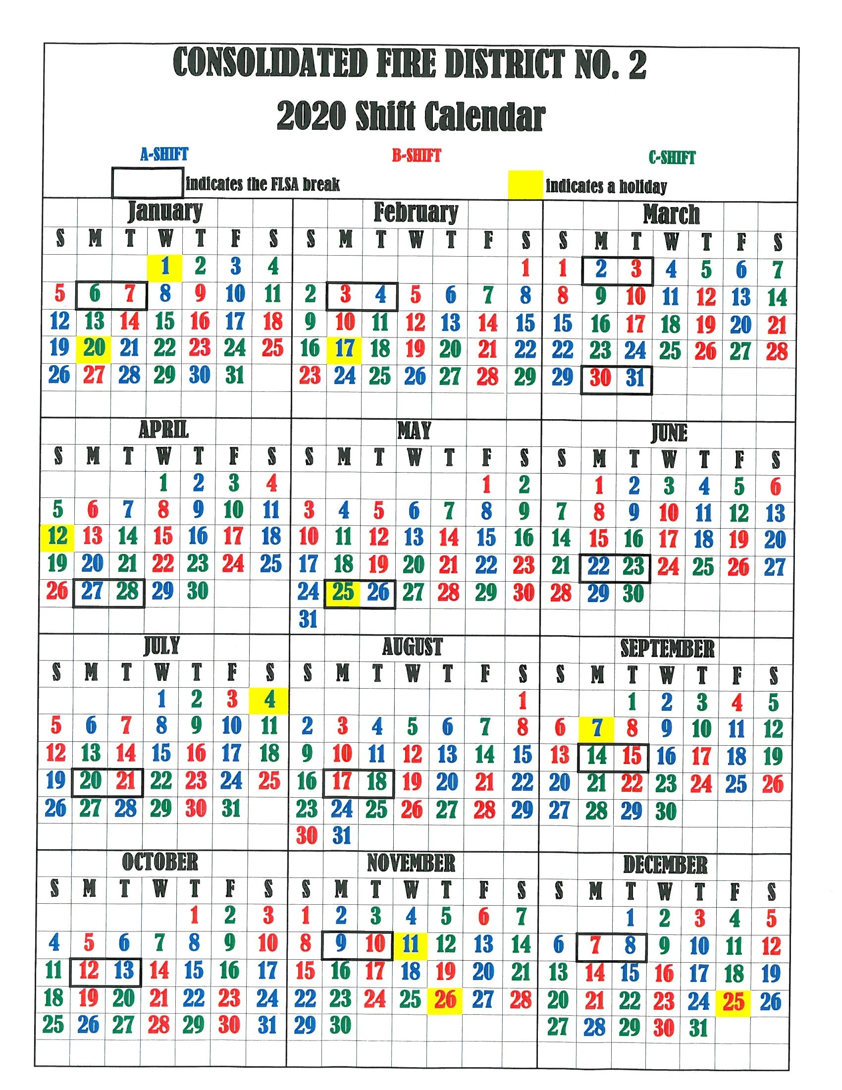 Fire Fighter Shift Calendar - Colona.rsd7 intended for Fire Dept Shift Calendar 24/48