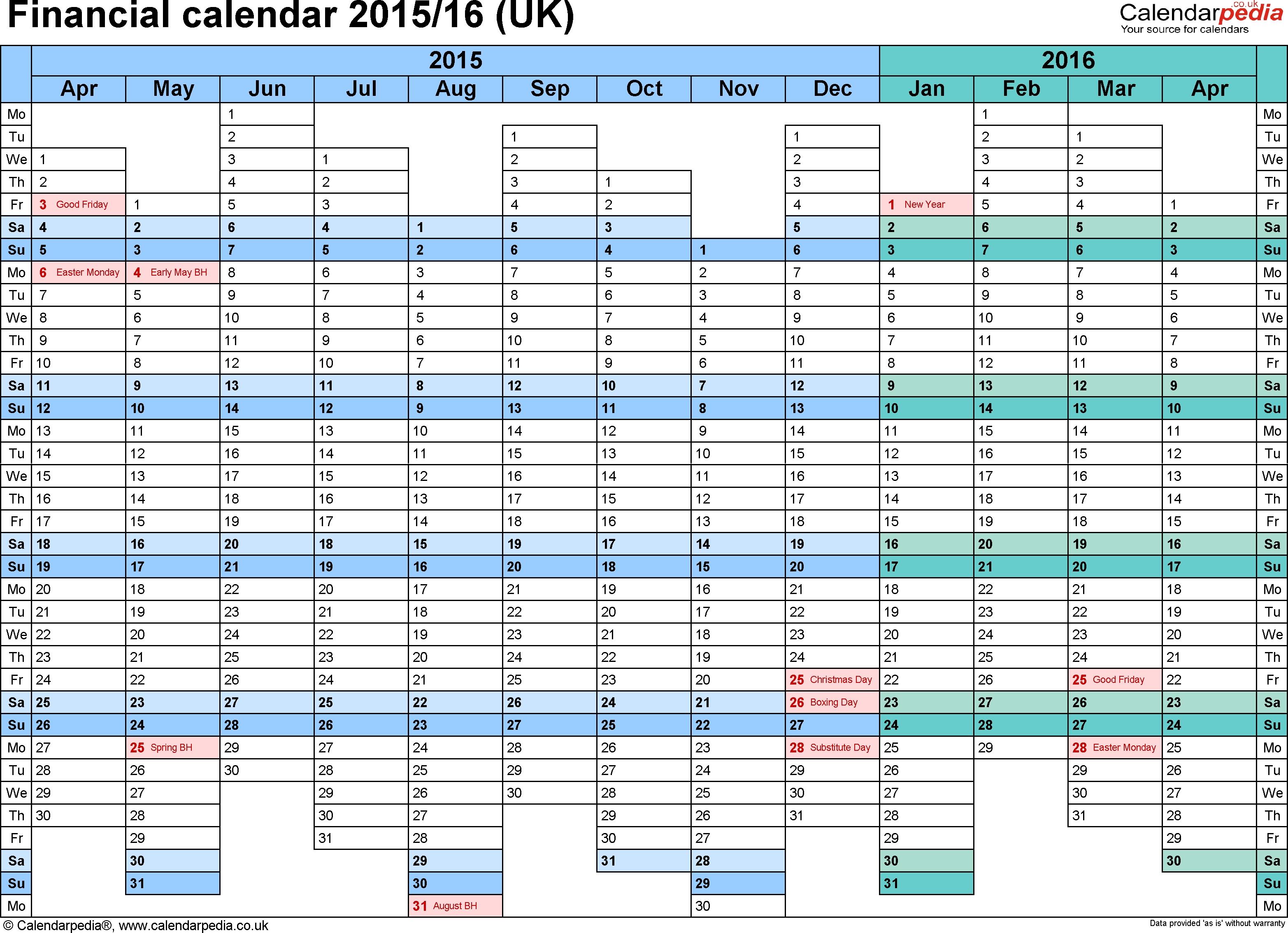 Fiscal Week Calendar 2015 - Colona.rsd7 with regard to Hmrc Tax Week Calendar 2019