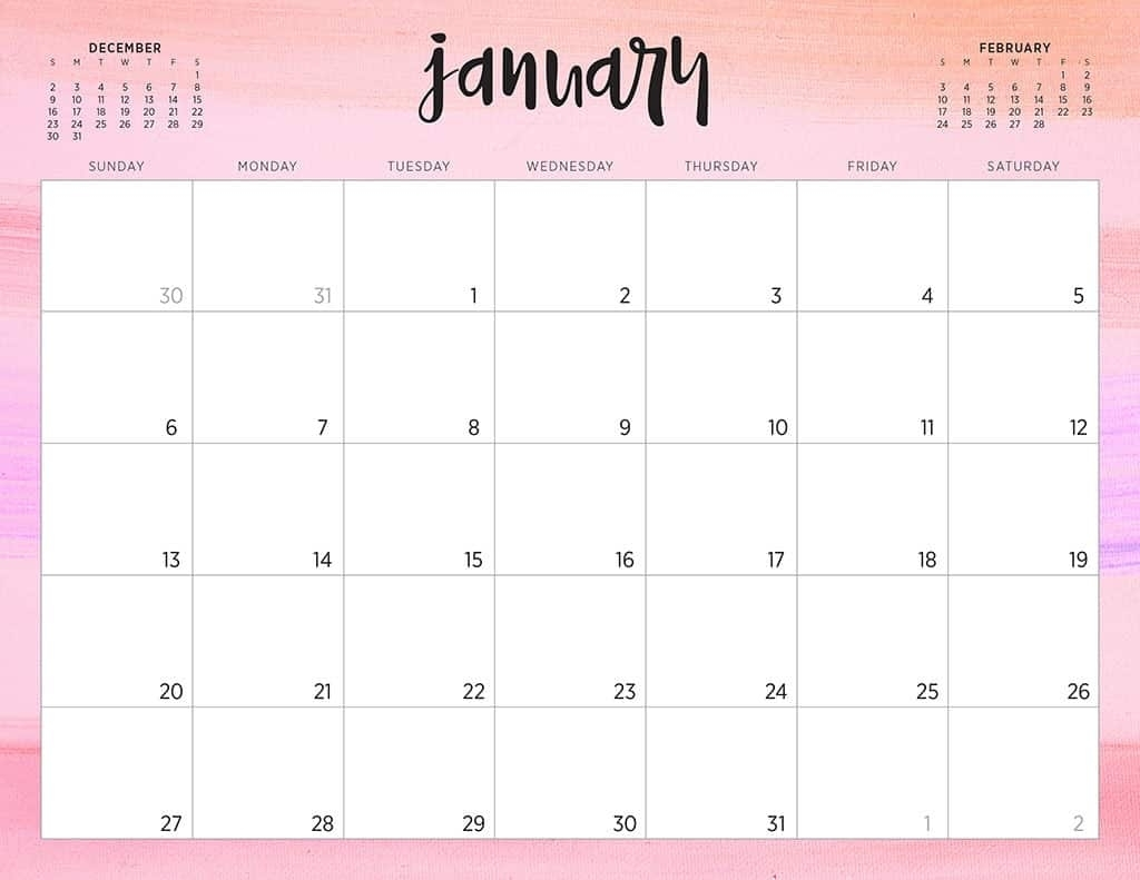 Free 2019 Printable Calendars - 46 Designs To Choose From! within Print Free Calendars Without Downloading